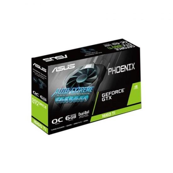 Asus GeForce GTX 1660 TI Phoenix OC 6GB GDDR6