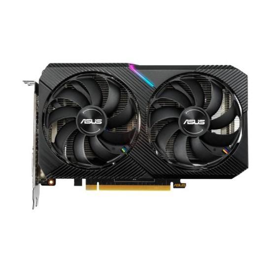 Asus Dual GTX 1660 Super Mini OC 6GB Graphics Card