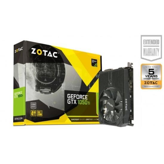 Zotac GTX 1050 TI 4GB GDDR5 Mini