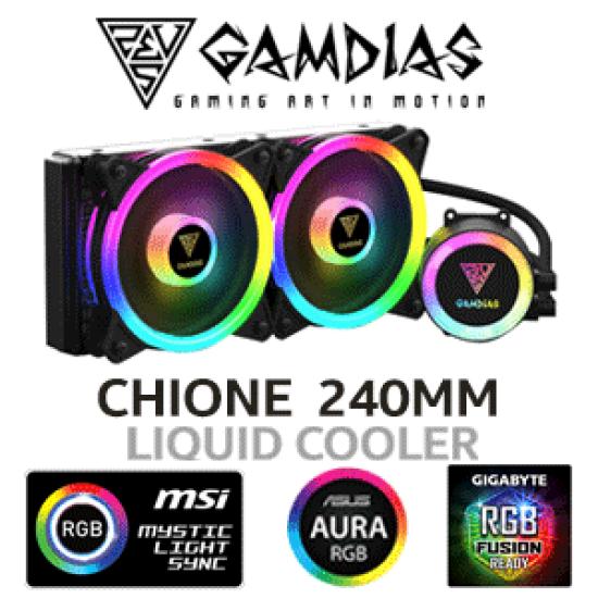 Gamdias CHIONE M2-240 LITE CPU ARGB Liquid Cooler