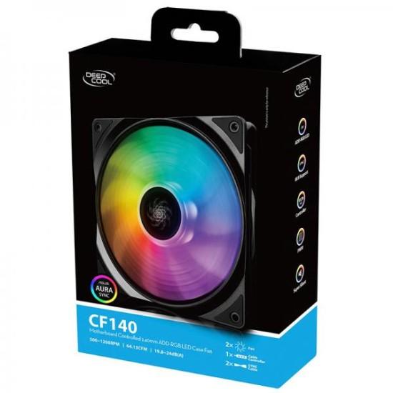 Deepcool CF140 2 In 1 ARGB -Dual Pack