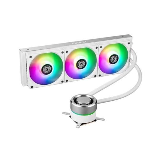 Lian Li Galahad 360 ARGB CPU Liquid Cooler (White)