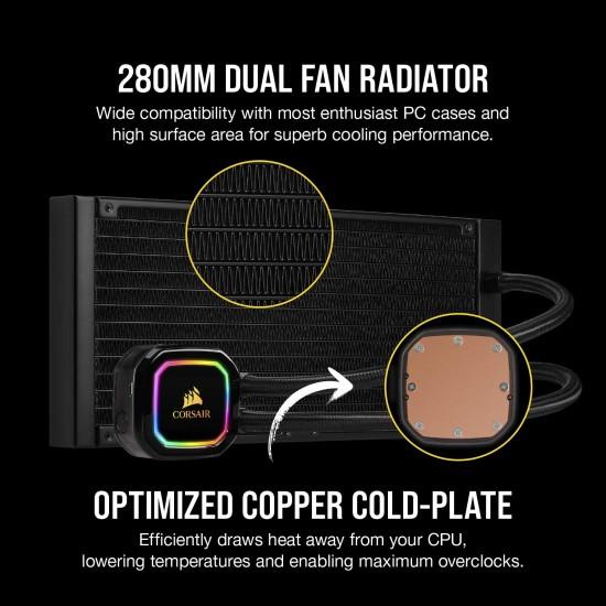 Corsair iCUE H115i RGB PRO XT 280MM