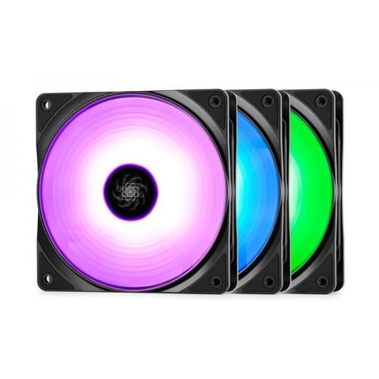DEEPCOOL RF120 3 IN 1 RGB 120MM  (TRIPLE PACK)