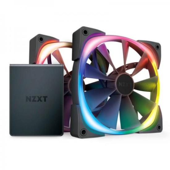NZXT AER RGB 2 STARTER KIT 140MM PWM RGB CABINET FAN