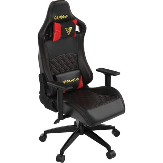 GAMDIAS APHRODITE EF1 L BR GAMING CHAIR-BLACK-RED