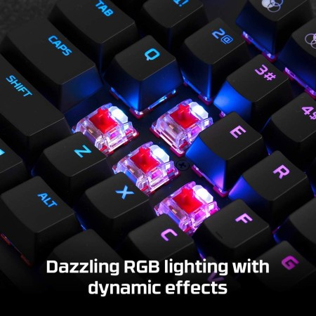HyperX Alloy Origins Core TKL Mechanical keyboard with Red Hyperx Switches