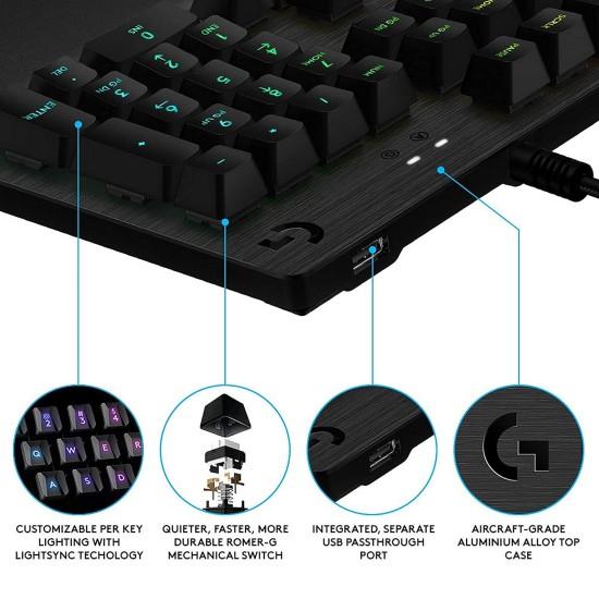 Logitech G512 Carbon GX CLICKY SWITCH