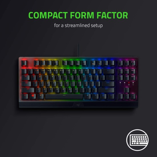 Razer BlackWidow V3 Tenkeyless – Green Switch