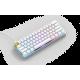 Glorious GMMK Modular Mechanical keyboard Compact (White Ice) - Gateron Brown Switch