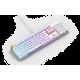 Glorious GMMK Modular Mechanical Keyboard Full Size (White Ice) - Gateron Brown Switch