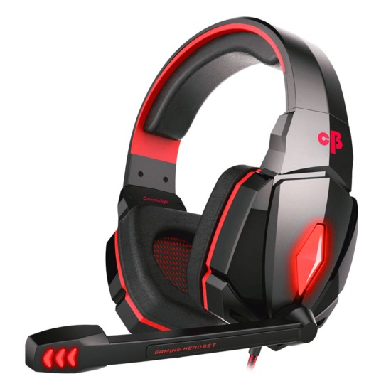 COSMIC BYTE G4000 EDITION HEADPHONE WITH MIC (RED)