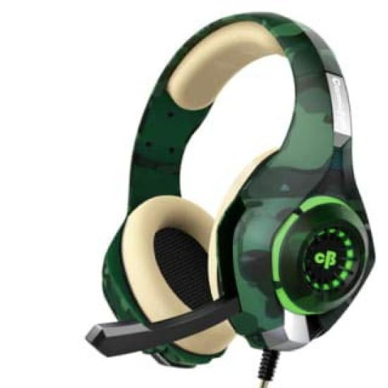 COSMIC BYTE GS410 HEADPHONES WITH MIC- CAMO GREEN