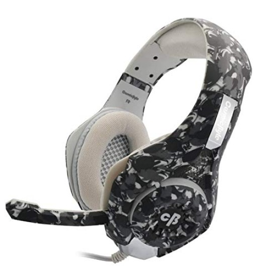 COSMIC BYTE GS410 HEADPHONES WITH MIC- CAMO BLACK
