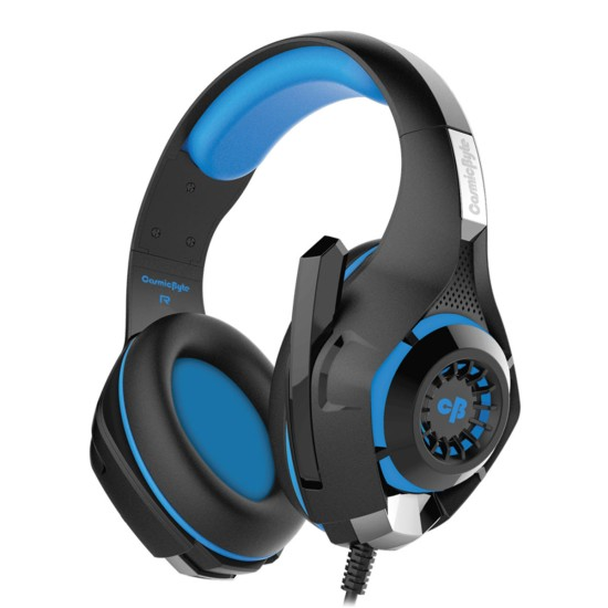 COSMIC BYTE GS410 HEADPHONES WITH MIC (BLACK-BLUE)