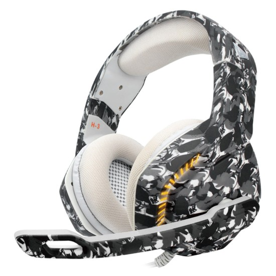 COSMIC BYTE H3 GAMING HEADPHONE WITH MIC (CAMO BLACK)