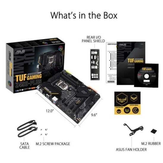 Asus TUF Gaming Z490 Plus