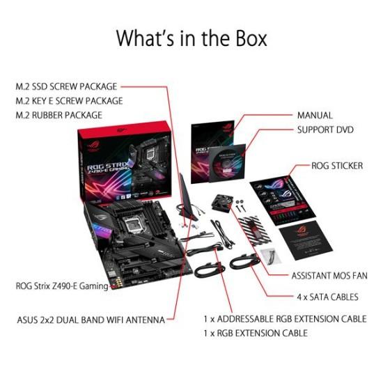 Asus ROG Strix Z490 E-Gaming Wi-Fi