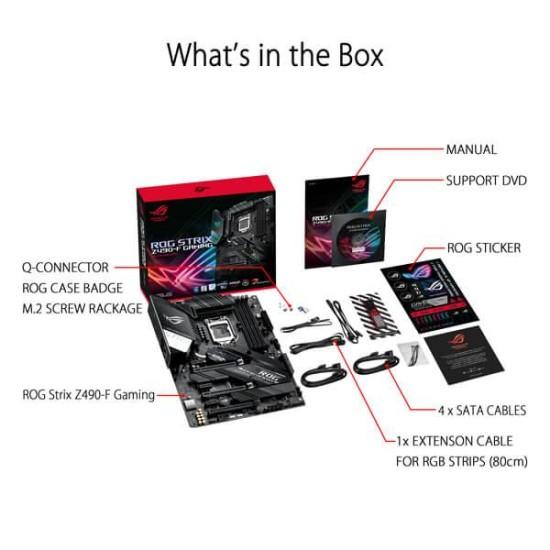 Asus ROG strix Z490 F-Gaming