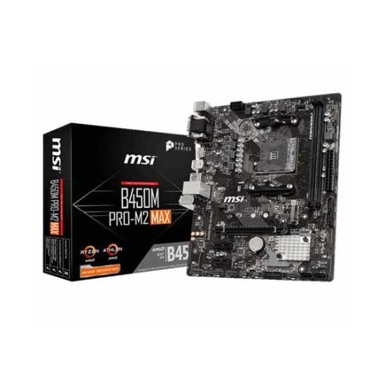 Msi B450M Pro M2 Max
