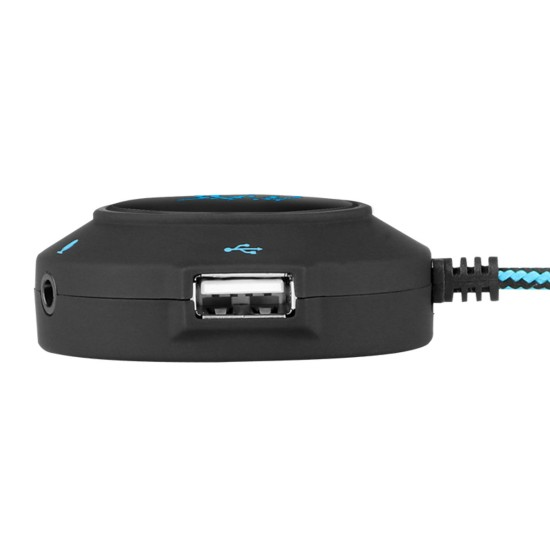 KOTION EACH S2 USB SOUND CARD WITH 2 USB AND AUDIO/MIC PORTS 1)