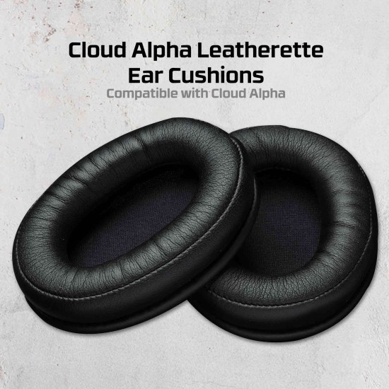 HyperX Cloud Alpha Leather Ear Cushions