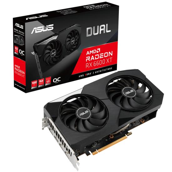 Asus Dual RX 6600 XT OC 8GB