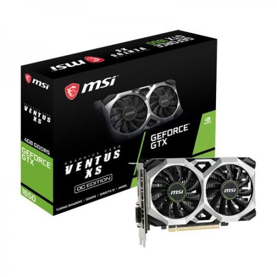 Msi GTX 1650 Ventus XS OC 4GB